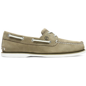 Timberland Classic 2-Eye Boat Shoes Men olive nubuck
